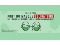 Brüksel'de maskesiz gezmek yasaklandı