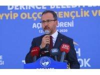 """Bakan Kasapoğlu: """"Tüm branşlardaki kulüplerimize başarılar dilerim"""""""