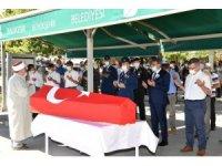 Vefat eden Kıbrıs Gazisine askeri cenaze töreni