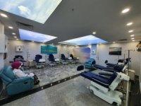 Mardin'de hastalara sanal gökyüzünde kemoterapi tedavisi