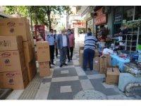 Haliliye'de kaldırım işgali ve pazar denetimi