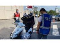 Taksim'de uygulamada polisi şoke eden görüntü