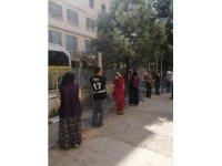 Nusaybin'deki kamu kurumlarında korona virüs tedbirleri sıklaştırıldı
