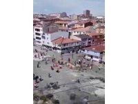Esenler'de mahalle kavgasında ortalık savaş alanına döndü