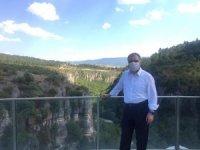 Kaymakam Türköz'den turizm alanlarında inceleme