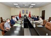 'Orman Yangınlarını Önleme Mücadele Komisyonu' Vali Su başkanlığında toplandı