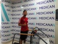 Sivasspor'da 5 futbolcu sağlık kontrolünden geçti