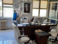 Memur izin dönüşü pozitif çıktı, Tapu Müdürlüğü'nde işlemler durdu