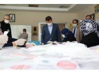 Aksaray'da kadın aktivite merkezleri yoğun ilgi görüyor