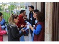 Sınav günü gürültü kirliliği yapılmaması yönünde uyarısı