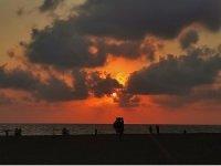 Samanda'da kartpostallık günbatımı