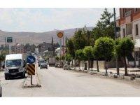 Hacıbekir caddesinde yenileme çalışmaları devam ediyor