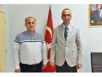 Başkan Kaya'dan İlçe Emniyet Müdürü Demiralp'e ziyaret
