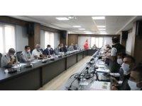 Orman yangınları ile mücadele komisyonu toplantısı düzenlendi