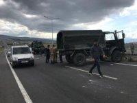Ardahan'da askeri araç kaza yaptı, 5 asker yaralandı