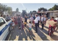 Evleri yanan vatandaşlara konteyner ev tahsis edilecek