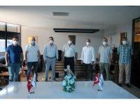 MÜSİAD Başkanı Pehlivan üyeleri iş yerinde ziyaret