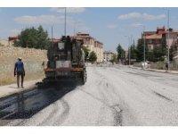 Ereğli Belediyesi asfalt çalışmalarını sürdürüyor