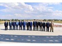 Bakan Yardımcıları ve Bilal Erdoğan Malazgirt'te