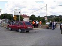 Samsun'da otomobil ile motosiklet çarpıştı: 2 yaralı