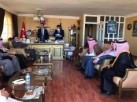 AK Parti'li Milletvekili Kaplan, 11 Suriyeli aşiret reisi ile toplantı yaptı