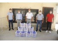 Aydın Büyükşehir Belediyesi'nden minibüs şoförlerine maske desteği