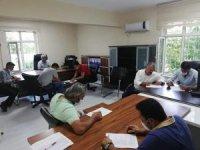 Iğdır'da avcı aday sınavı  yapıldı