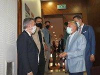 Adana Valisi Elban, Adana OSB'de incelemelerde bulundu