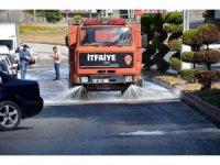 Cadde ve Sokaklar Dezenfekte ediliyor