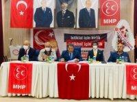 MHP Malatya İl teşkilatlarında kongre heyecanı devam ediyor