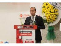 MHP Meram ilçe kongresi yapıldı