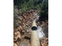 DSİ hatlarındaki patlak nedeni ile Bodrum'da 36 saatlik su kesintisi yaşanacağı duyuruldu