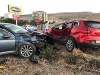 Aynı yolda ikinci kaza: 11 yaralı