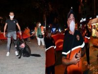 """Marmara Depremi'nde hayatını kaybedenler, """"Sessiz Yürüyüş"""" ile anıldı."""
