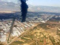 Antalya OSB'de fabrika yangını