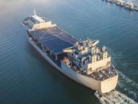 ABD savaş gemisi USS Hershel Woody Williams, Yunanistan'ın Girit Adası'na vardı.