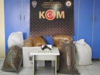 Kırıkkale'de 75 kilo kaçak tütün ele geçirildi