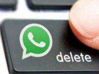 WhatsApp'ta mesaj silme işlemi iki ayrı şekilde yapılıyor.