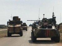 İdlib'de Türk-Rus devriyesindeki patlamada 1 araç hasar gördü