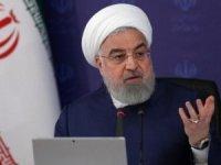 """İran Cumhurbaşkanı Ruhani: """"Milletimiz, ABD'ye teslim olmadı"""""""