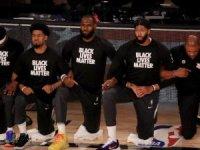 NBA ve spor tarihinde ses getirici boykot kararı sonrası dünya gündemi gözlerini Amerika'ya çevirdi.
