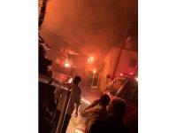 Duralar Köyü'nde gece yarısı korkutan yangın