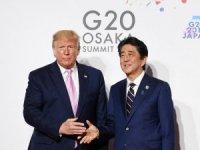 Japonya Başbakanı Abe ve ABD Başkanı Trump'tan istifa görüşmesi