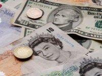 Dolar 7.36 lira, euro 8.77 lira, sterlin 9.85 lirada