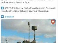 Savunma Sanayii Başkanı Demir: Radar Elektronik Destek sistemi teslimatları devam ediyor