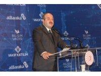 """Bakan Varank: """"Bilişim Vadisi, Albaraka Katılım ve Vakıf Katılım ortaklığında 100 milyon liralık bir fon kuruyoruz"""""""