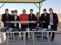 'Ceren Özdemir' isimli roket 1500 metre yükseğe ulaştı