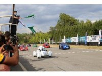 Üniversite öğrencileri tasarladıkları araçlarla TEKNOFEST'te yarıştı