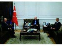 Başkan Yıldırım'dan İçişleri Bakanı Soylu'ya ziyaret