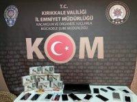 Kırıkkale'de kaçak telefon operasyonu